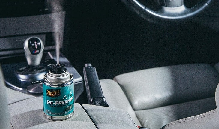Air freshener in cupholder