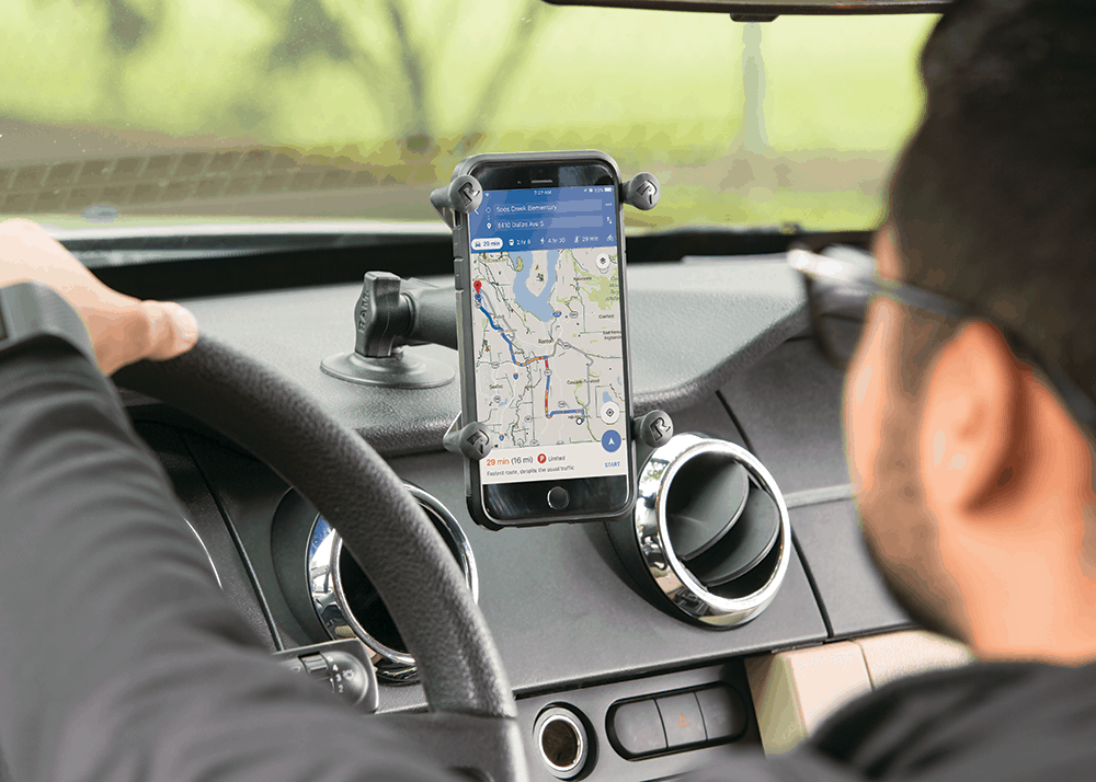 Car phone mount for uber drivers