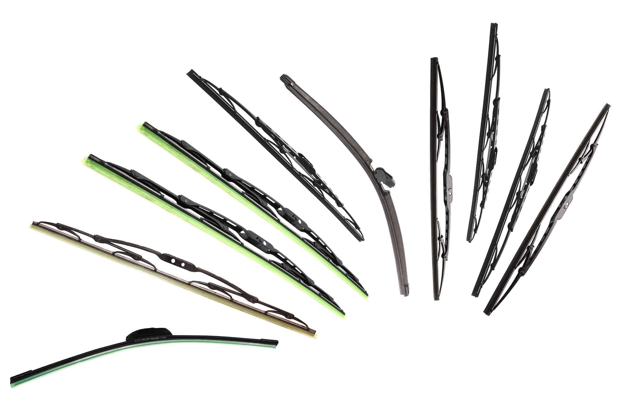 Different types of windshield wiper blades