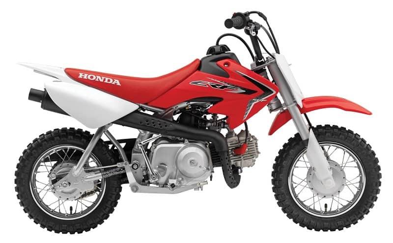 Honda CRF50F Side View