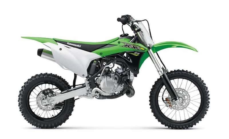Kawasaki KX 65 Side View