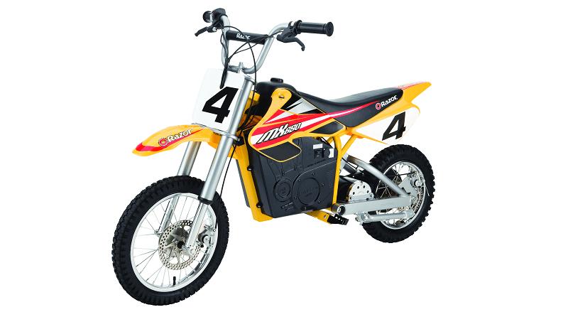 Razor MX650 Dirt Rocket Side View
