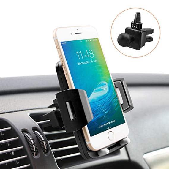Vent clip car phone mount
