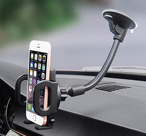 Windshield car phone mount