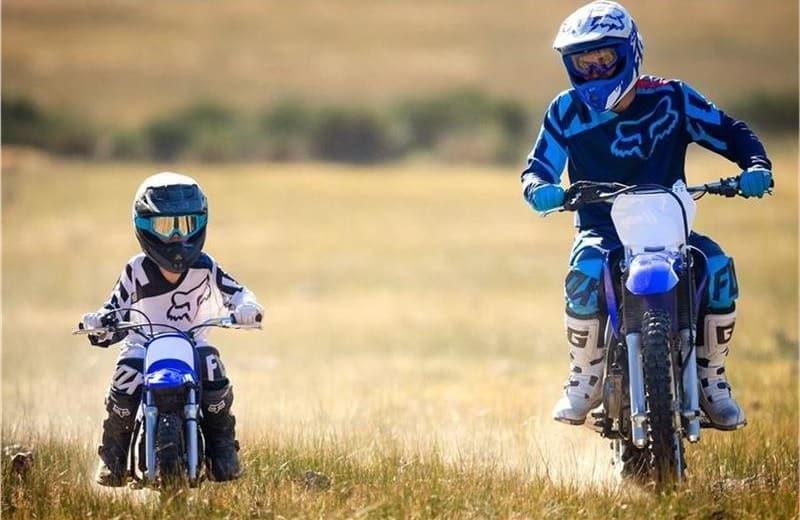 Yamaha PW50 Adult And Child Riding