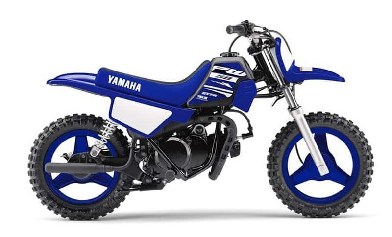 Yamaha PW50 Side View
