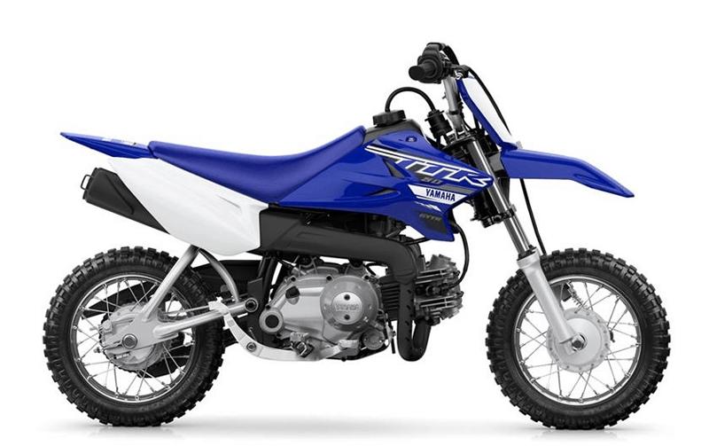 Yamaha TT-R50E Side View