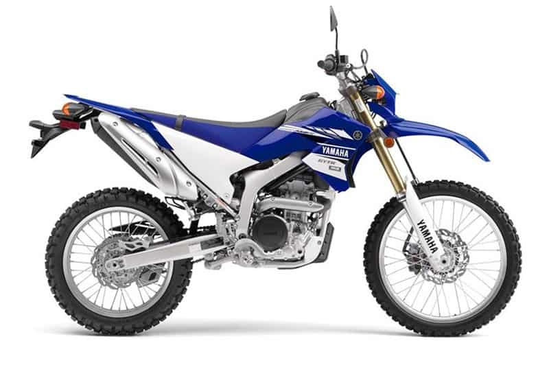 Yamaha WR250R Side View