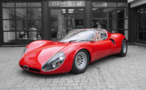 Alfa Romeo Stradale Tipo 1 is one of the most beautiful Italian cars ever devised