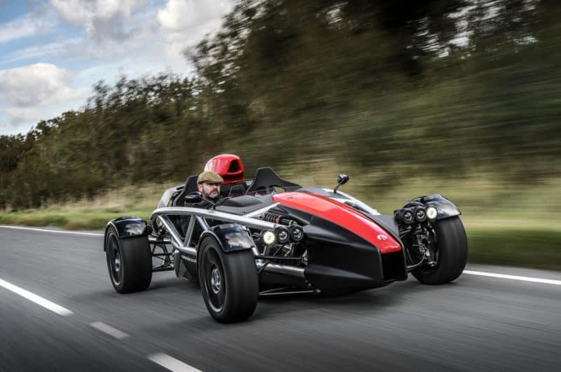 Ariel Atom - an open cockpit track car