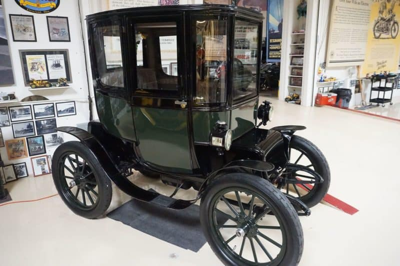 Baker Electric was one of the first electric cars ever made