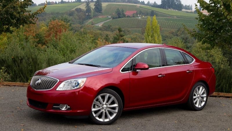 Buick Verano has been axed sooner than expected