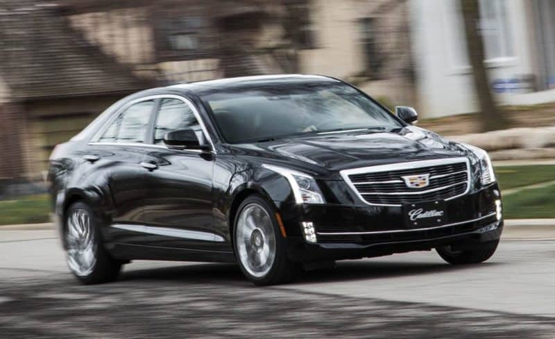 Cadillac ATS is another one of discontinued cars from the U.S. market