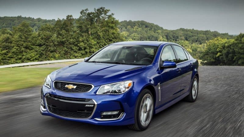 Chevrolet SS was the ultimate sleeper car during its short production run
