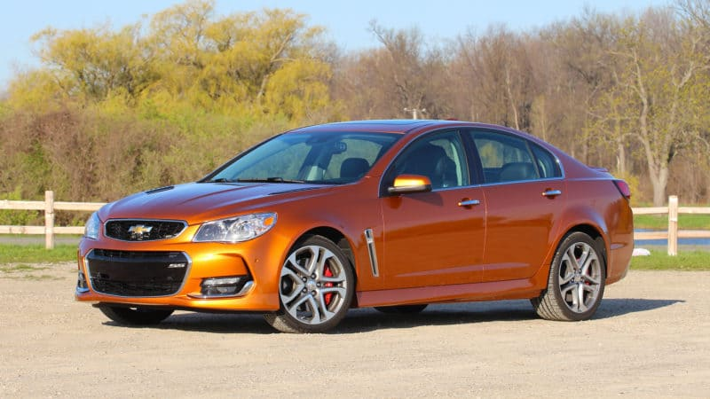 Chevy SS is, sadly, one of the discontinued cars