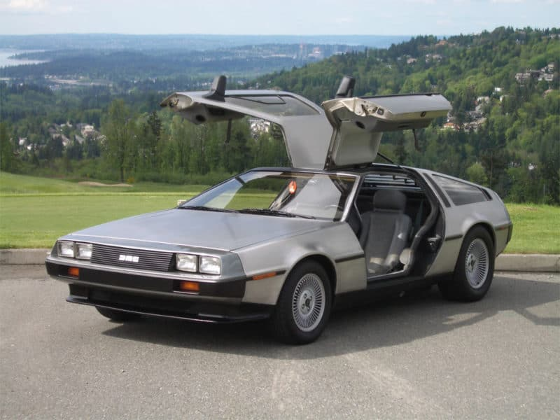 DeLorean DMC-12 was much slower than its appearance would suggest
