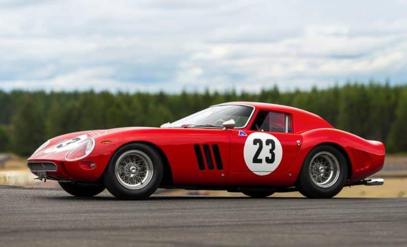 Ferrari 250 GTO is the archetype of a classic Italian car