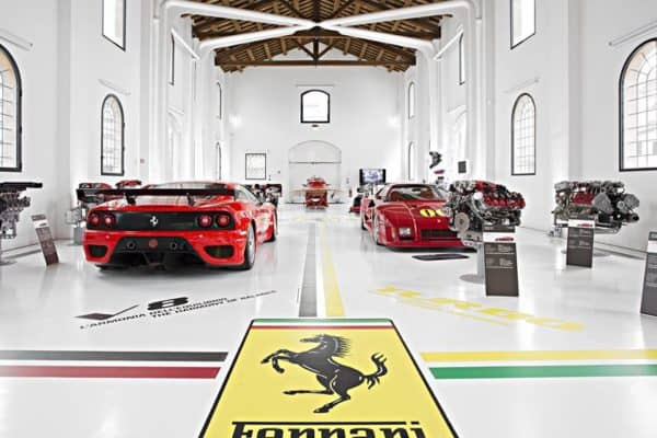 Ferrari museum is packed with iconic Italian cars