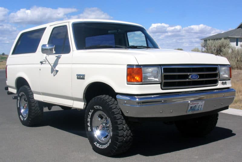Ford Bronco - the most iconic of all discontinued SUVs