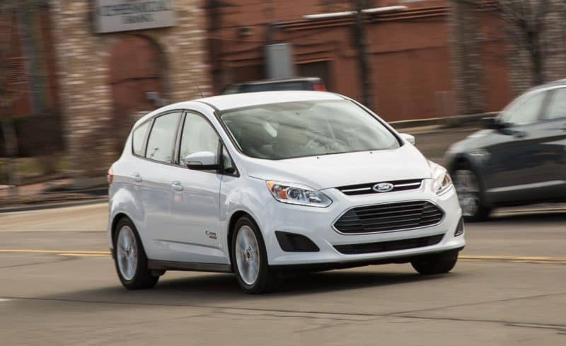 Ford C-Max Energi still holds its spot among the top 10 best selling electric vehicles in the U.S.