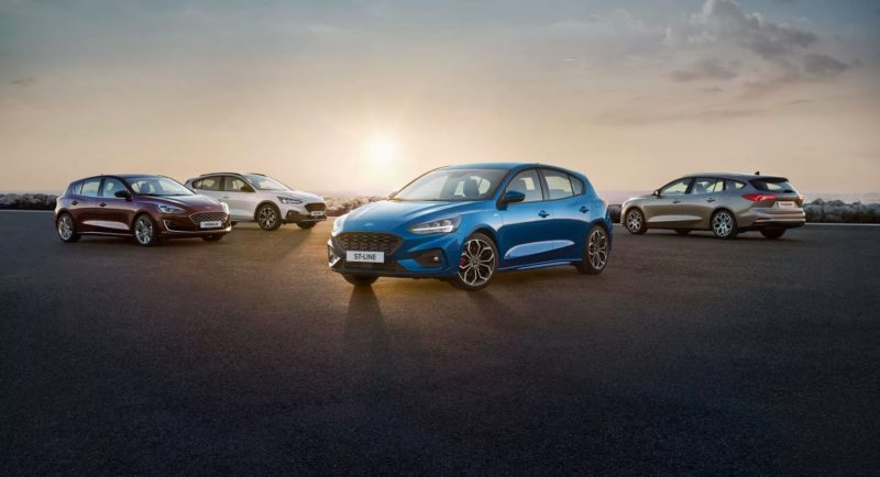 Ford Focus lineup