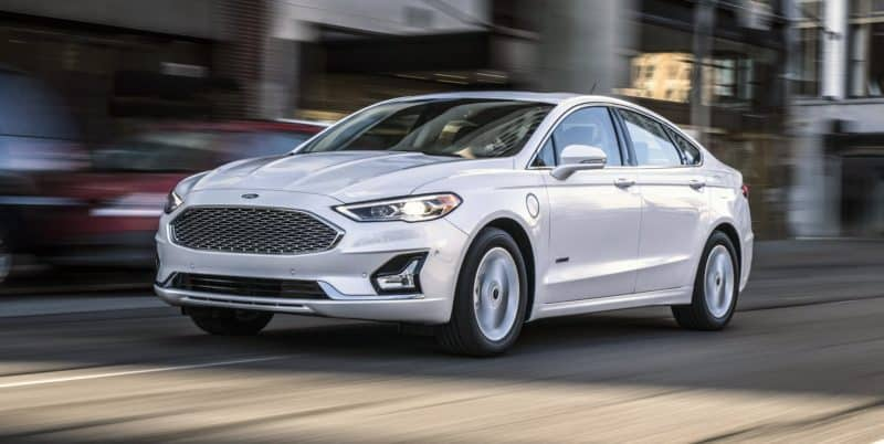 Ford Fusion Energi electric vehicle