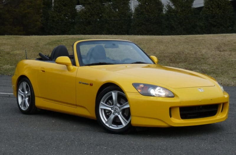 Honda S2000 is one of the best Japanese cars of 2000s