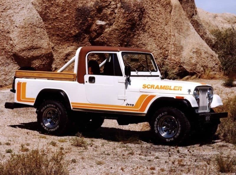 Jeep CJ-8 Scrambler - the ultimate Jeep truck