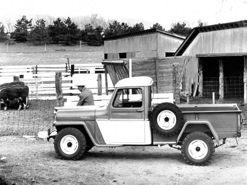 The first-ever Jeep Truck
