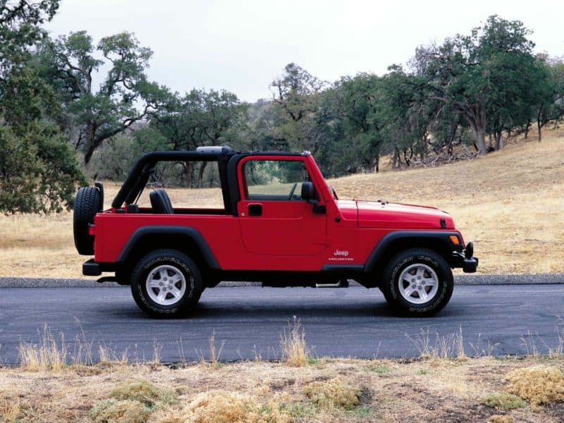 Jeep Wrangler Unlimited TJ