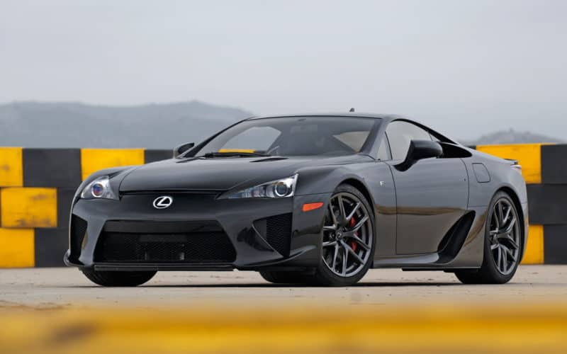 Lexus LFA is one of the coolest Japanese cars of 2010s