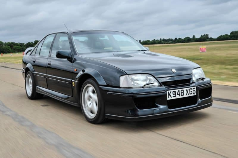 Lotus Carlton is one of the least-known sleeper cars in the world