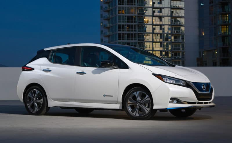 Nissan Leaf is one of the best-selling electric cars in the world