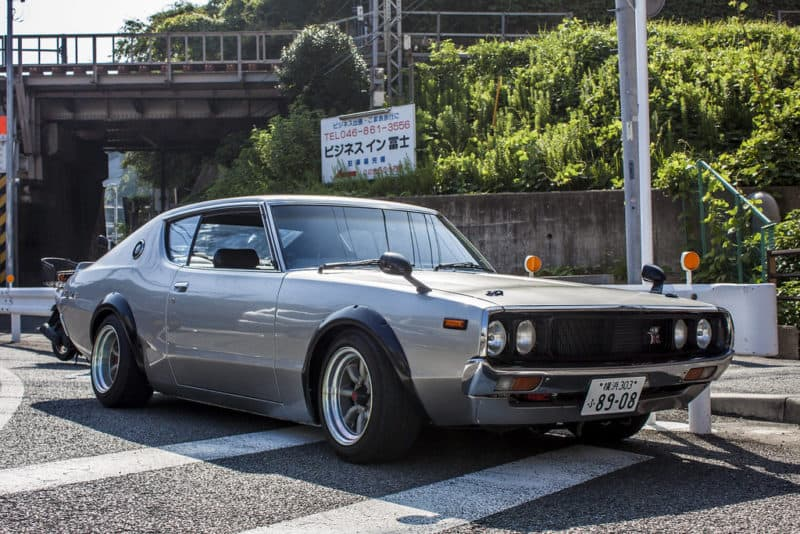 Nissan Skyline GT-R C110 is one of the rarest Japanese cars of the 70s