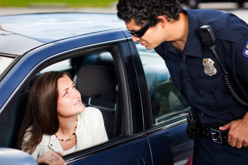 Talking your way out of speeding ticket