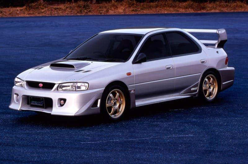 Japanses cars - Subaru Impreza WRX STi S201