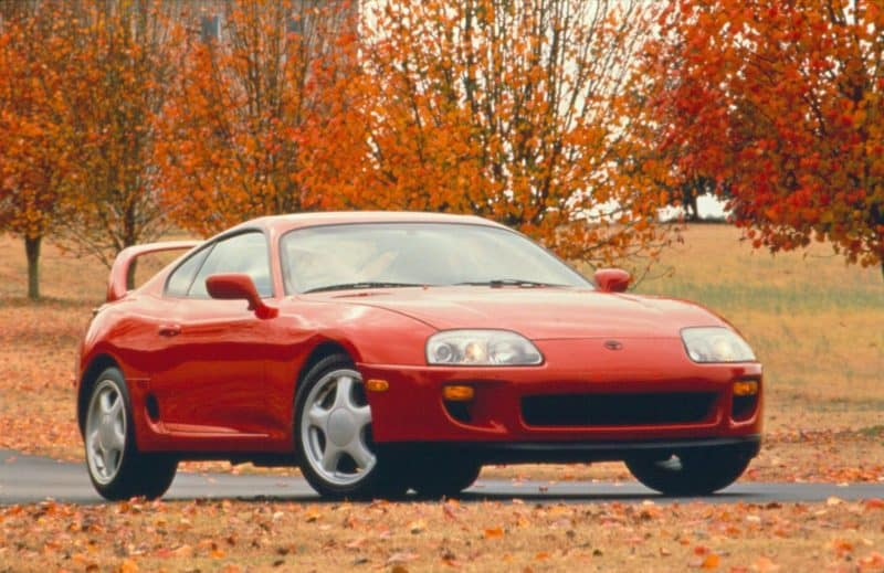 Toyota Supra Mark 4 is one of the most coveted Japanese cars today