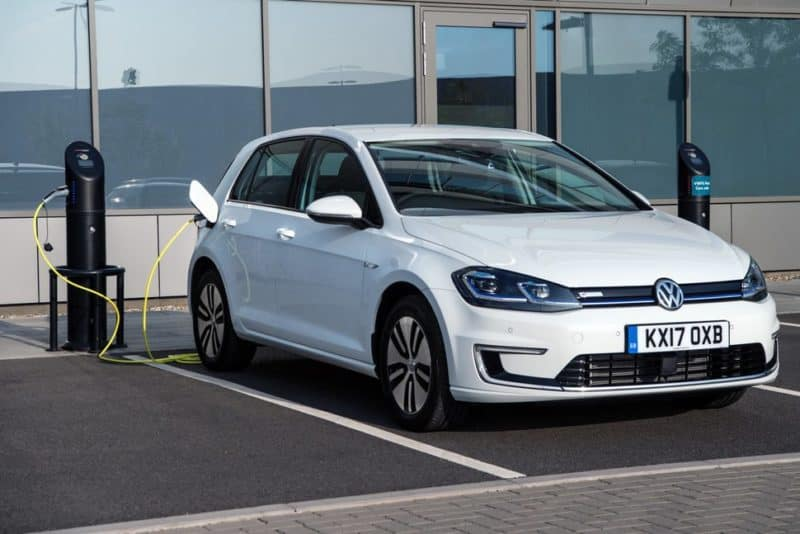 Volkswagen e-Golf is one of the better-selling electric cars