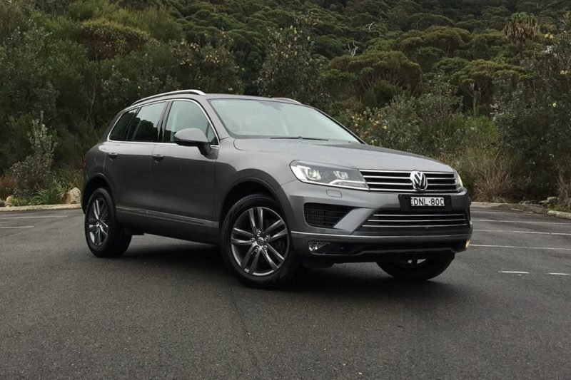 Volkswagen Touareg was axed in the U.S.