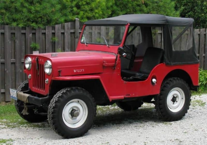 Willys Jeep CJ is an absolute icon