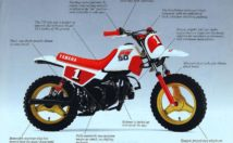 1986 Yamaha PW50 Information