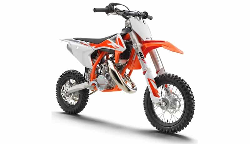2020 KTM SX 50 Front and side view