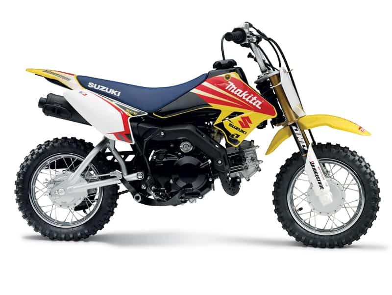 2020 Suzuki DR-Z70 Side View