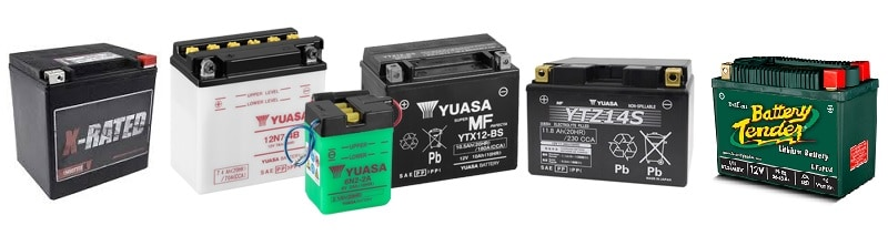 A Range Of Motorcycle Batteries