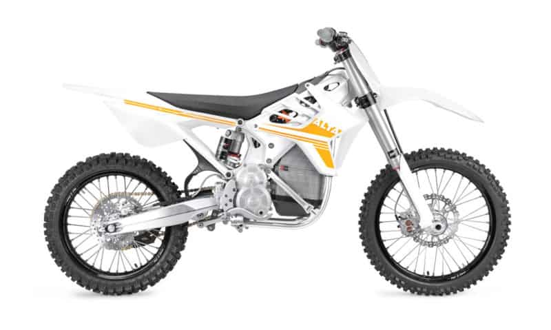 Alta Motors Redshift MX Side View
