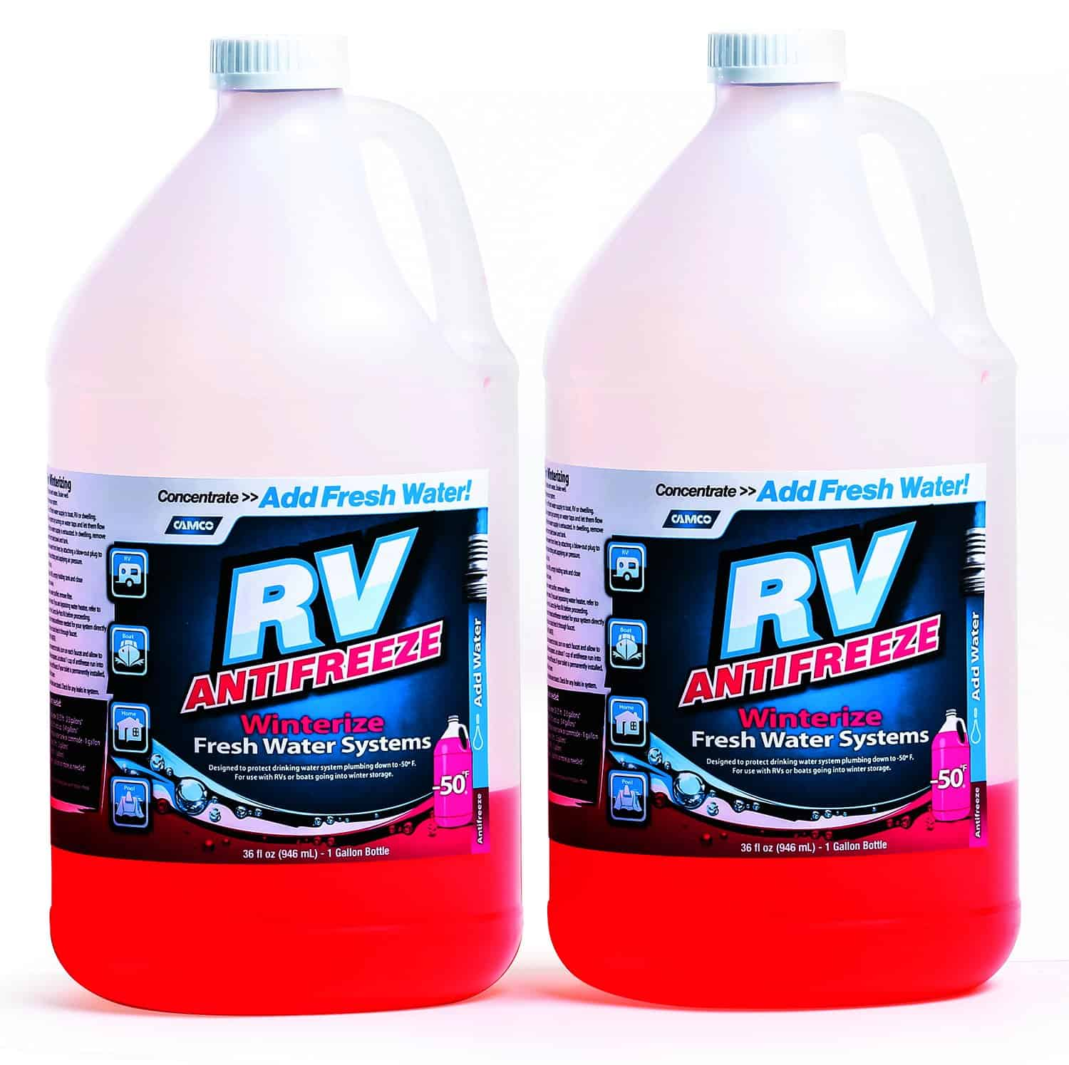 Camco RV antifreeze bottles