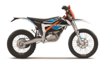 The KTM Freeride E-XC Is An Automatic Dirt Bike