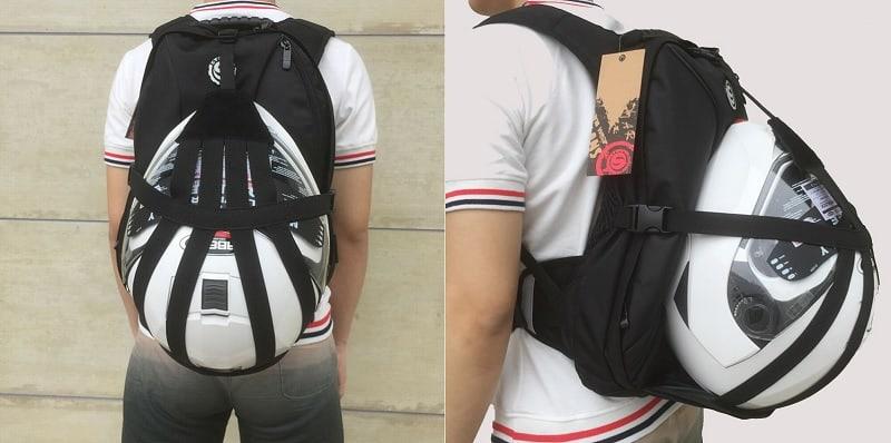 Motorcycle Helmet Backpack