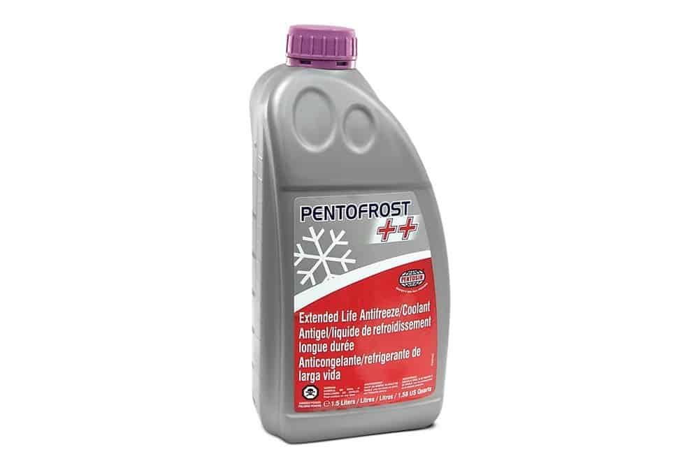 Bottle of Pentofrost coolant