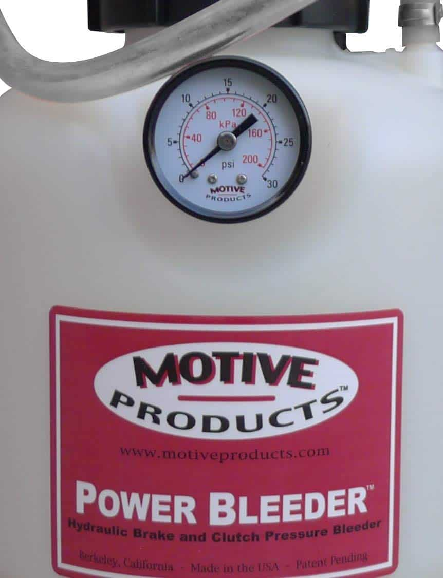 Motive Products 0100 Hand Pump Pressure Tank with Adapter